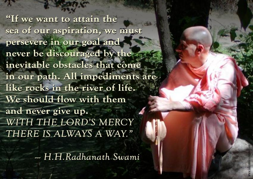 Radhanath Swami on Attaining Success in Our Aspiration