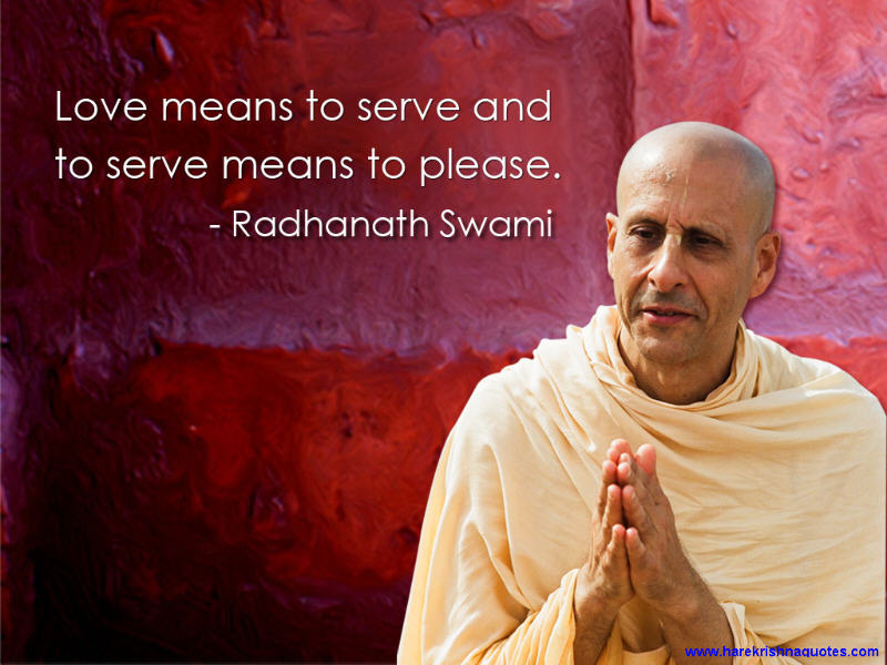 Radhanath Swami on Love and Service