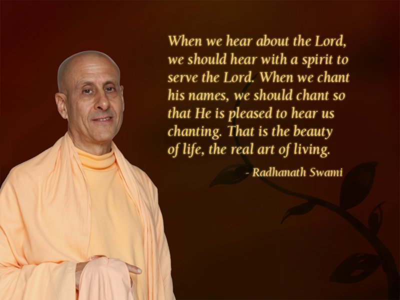 Radhanath Swami on The Real Art of Living