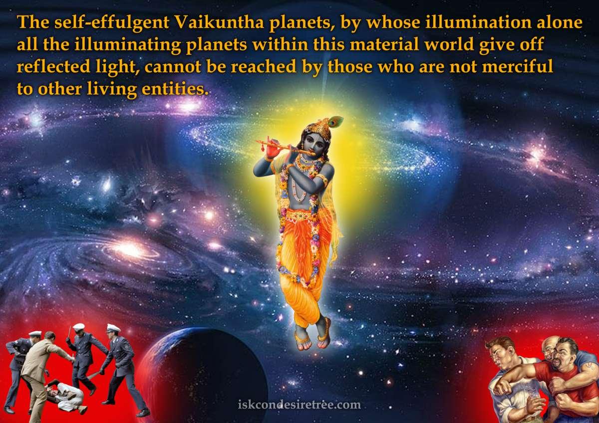 Srimad Bhagavatam on The Vaikuntha Planets