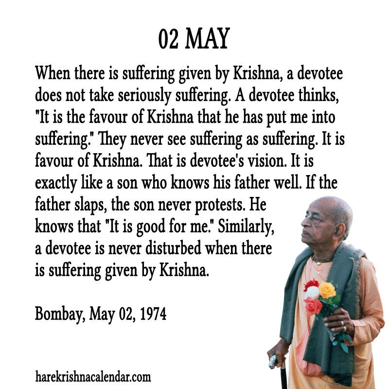 Prabhupada Quotes For The Month of May 02