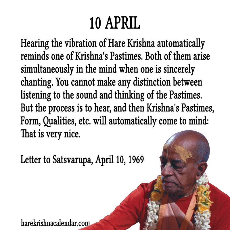Prabhupada Quotes | Spiritual Quotes By ISKCON Desire Tree | 800 x 800 jpeg 166kB