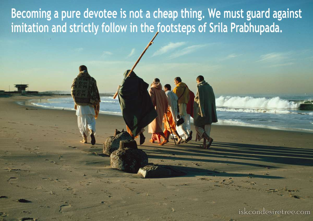 Bhakti Charu Swami on Becoming A Pure Devotee