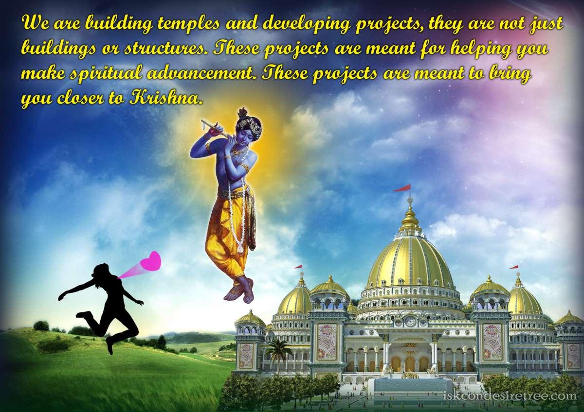 Bhakti Charu Swami on Building Temples