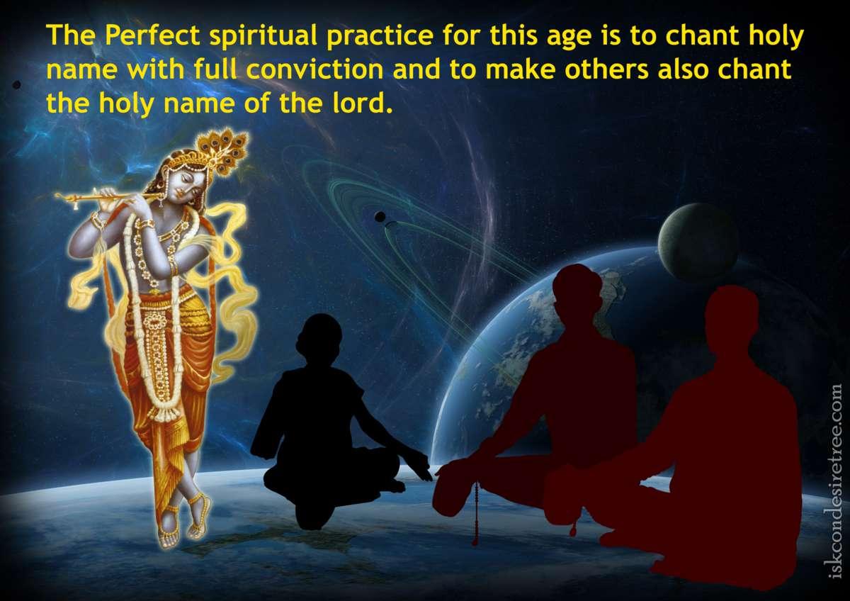 Bhakti Charu Swami on Chanting - The Perfect Spiritual Practice
