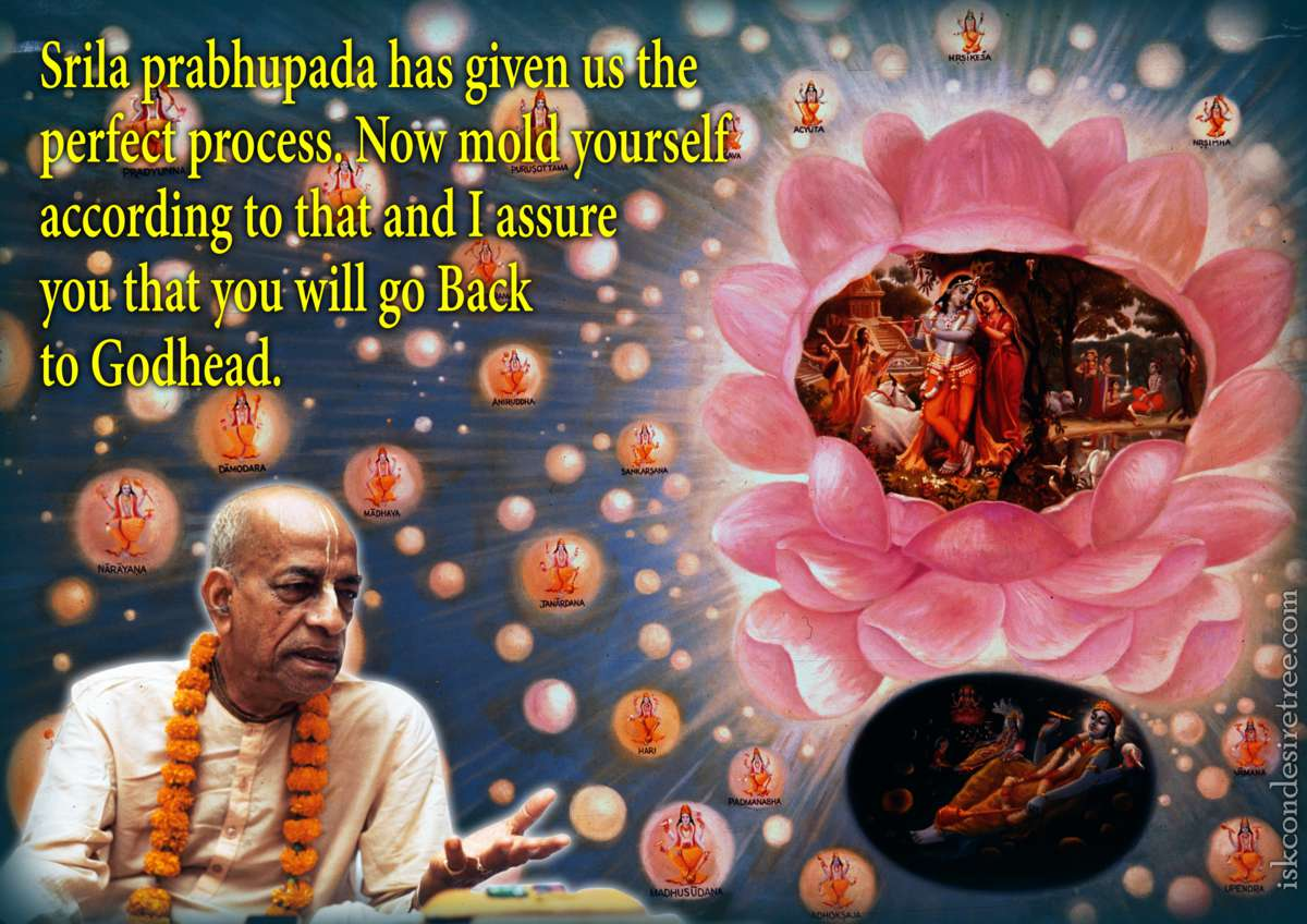 Bhakti Charu Swami on Going Back to Godhead
