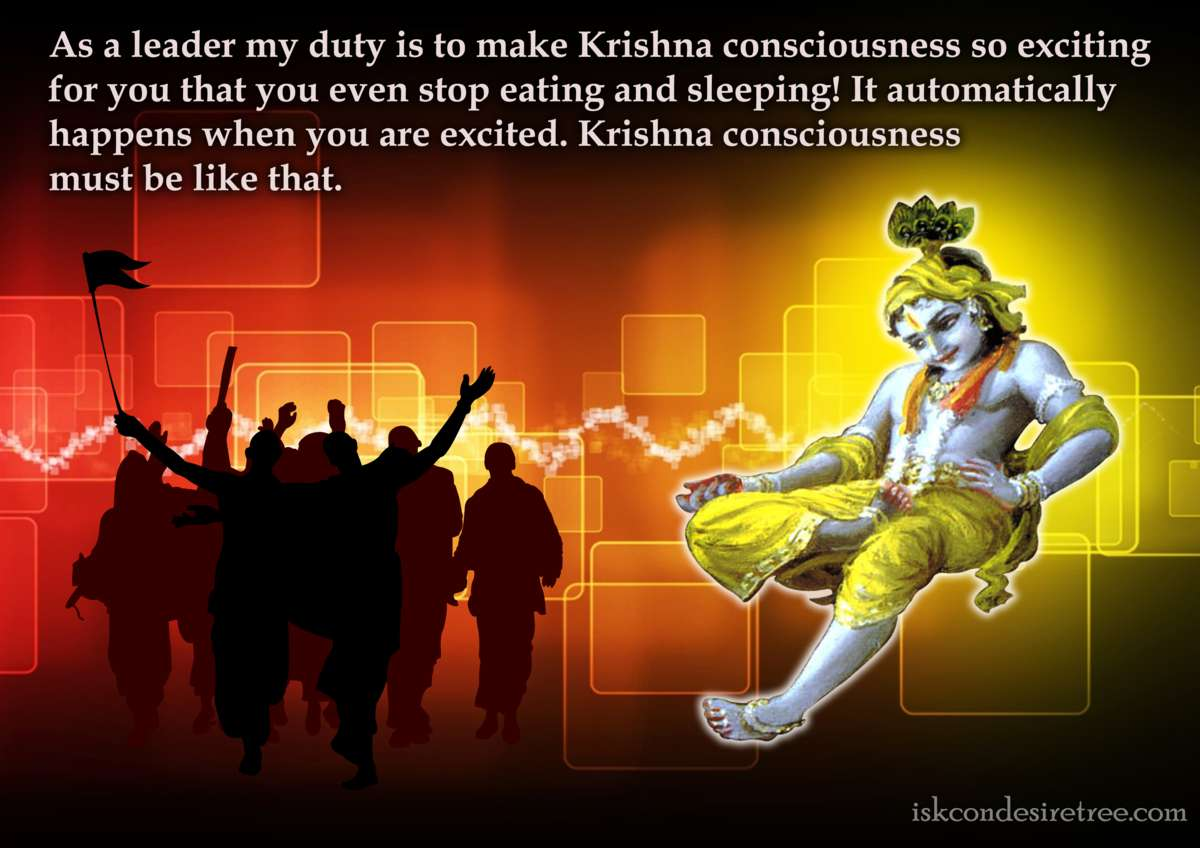 Bhakti Charu Swami on Making Krishna Consciousness Exciting