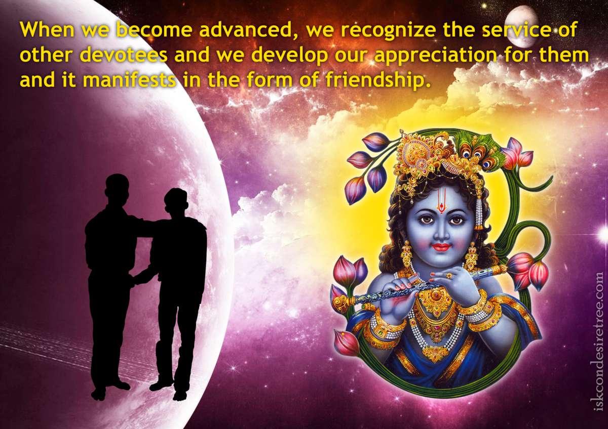 Bhakti Charu Swami on Symptoms of Advancement