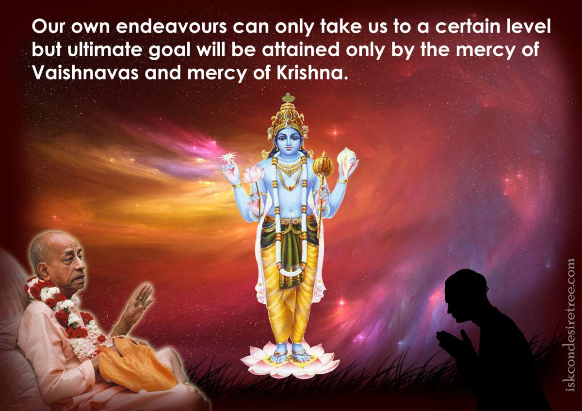Bhakti Charu Swami on The Mercy of The Vaishnavas and Lord Krishna
