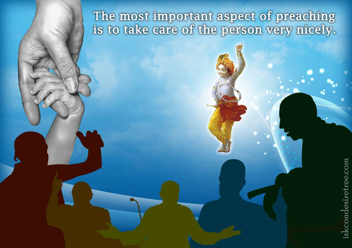Bhakti Charu Swami on The Most Important Aspect of Preaching