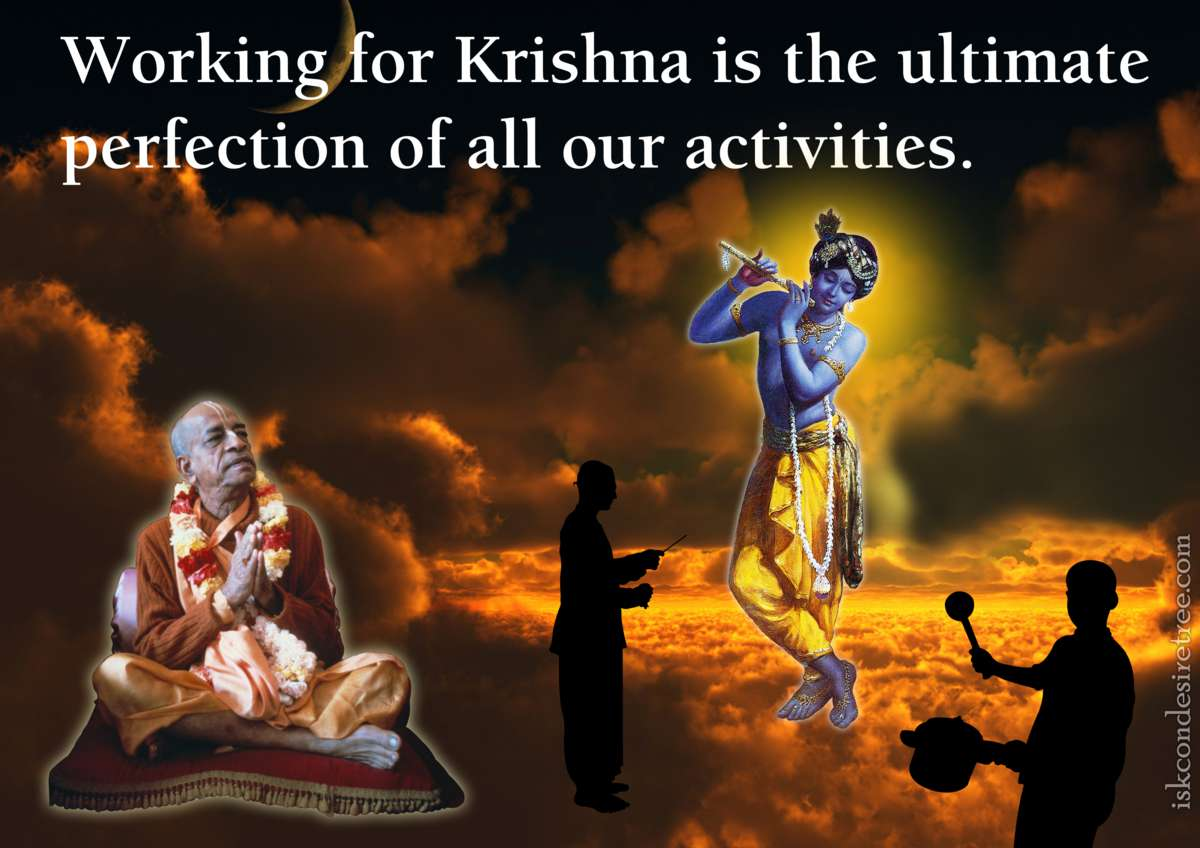 Bhakti Charu Swami on Working For Krishna
