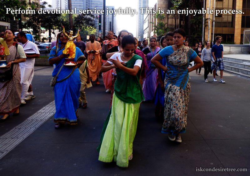 Bhakti Swarup Damodar Swami Joyful Process