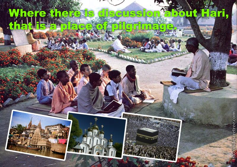 Bhaktisiddhanta Sarasvati Thakura on Place of Pilgrimage