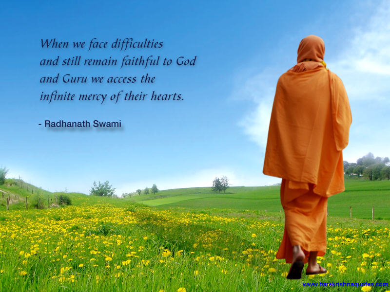 Radhanath Swami on Faithfulness