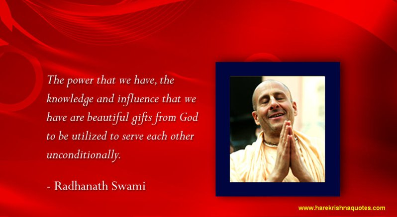 Radhanath Swami on Gifts From God