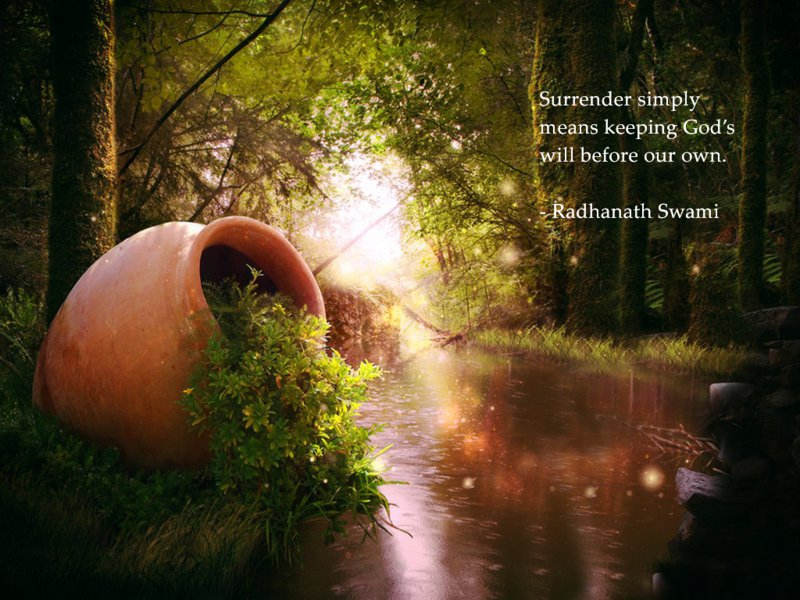 Radhanath Swami on Meaning of Surrender