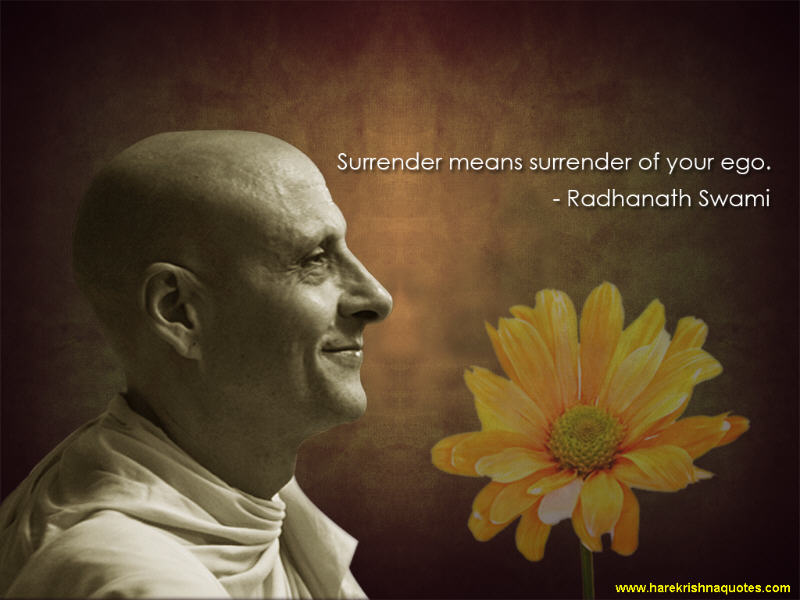 Radhanath Swami on Surrender