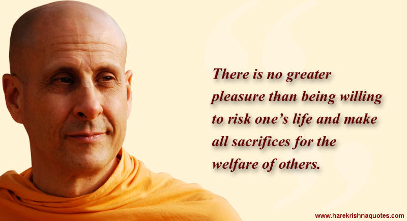 Radhanath Swami on Welfare