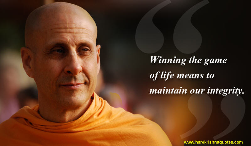 Radhanath Swami on Winning The Game of Llife