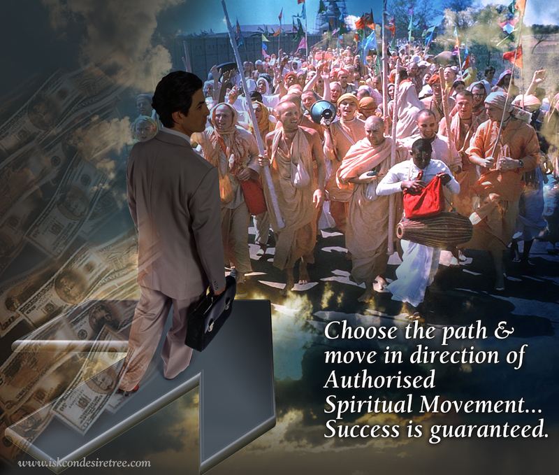 Quotes by Srila Prabhupad on Guarantee of Success