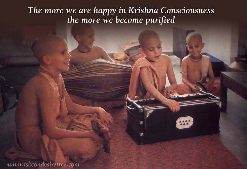 Quotes by Srila Prabhupada on Becoming More Purified