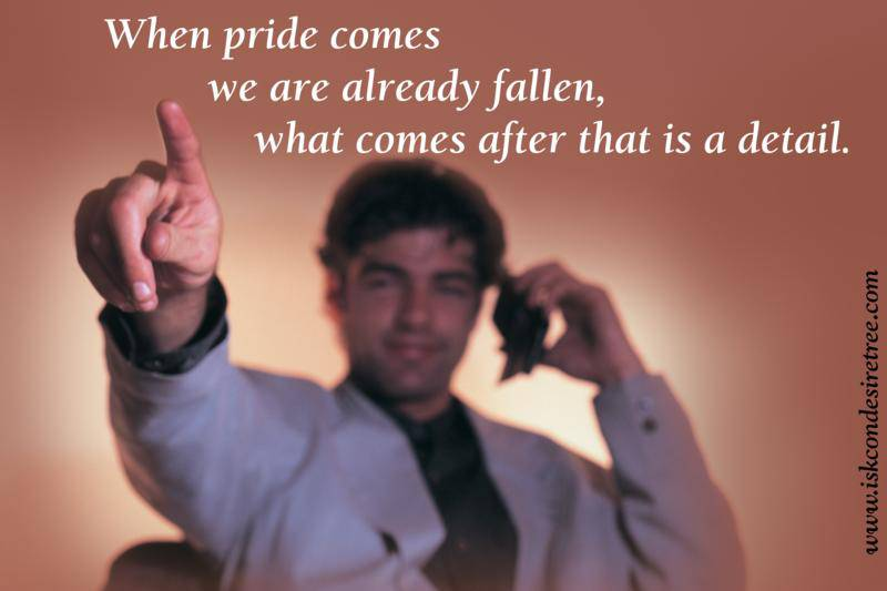 Quotes by Srila Prabhupada on Being Fallen
