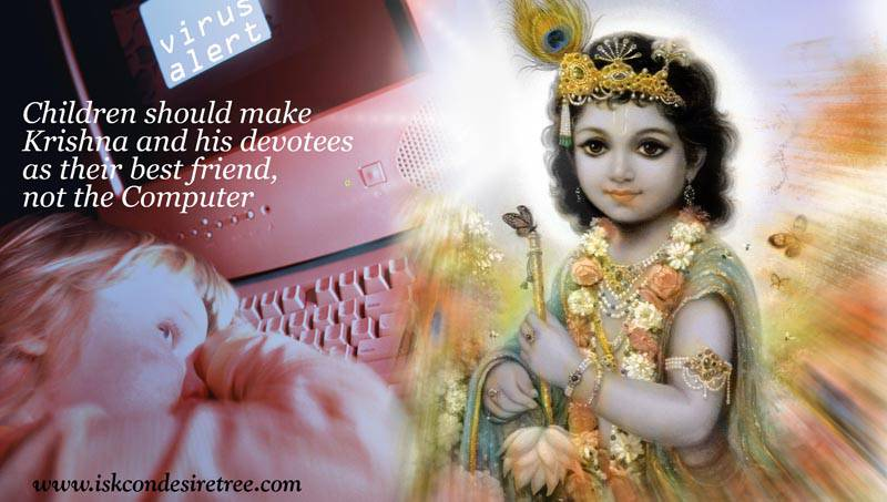Quotes by Srila Prabhupada on Best Friends of Children