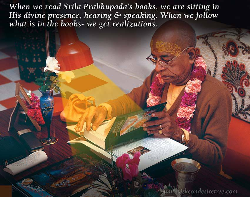 Quotes by Srila Prabhupada on Books of Srila Prabhupada