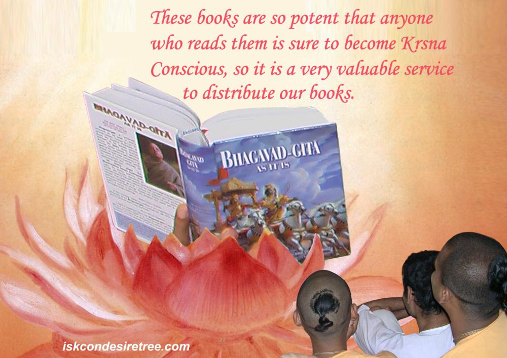 Quotes by Srila Prabhupada on Distributing Books - A Valuable Service