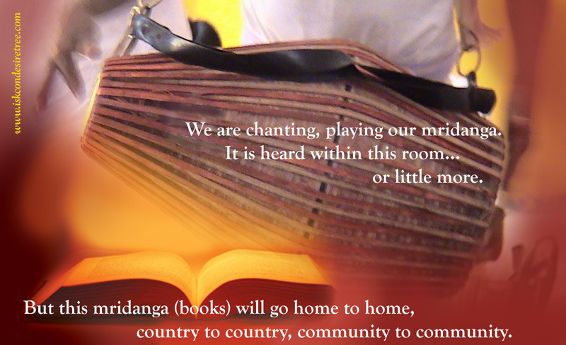 Quotes by Srila Prabhupada on His Books