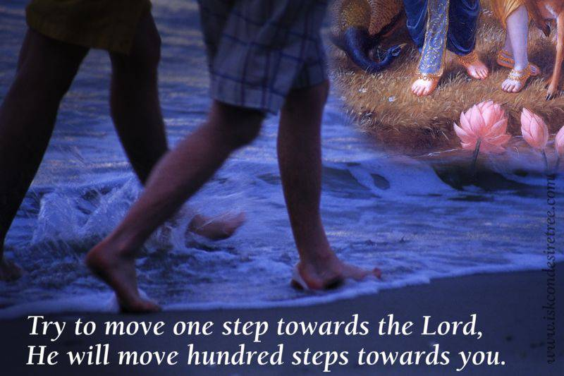Quotes by Srila Prabhupada on Move Towards The Lord