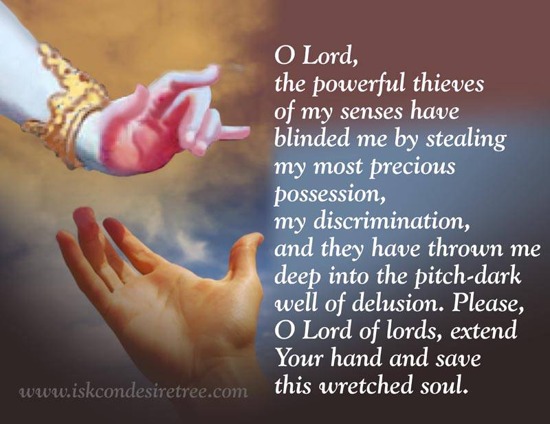 Quotes by Srila Prabhupada on Prayer to The Lord