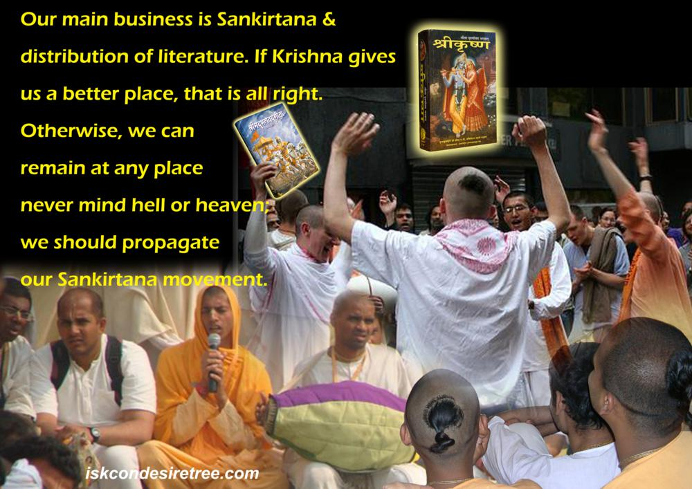 Quotes by Srila Prabhupada on Propagating The Sankirtana Movement