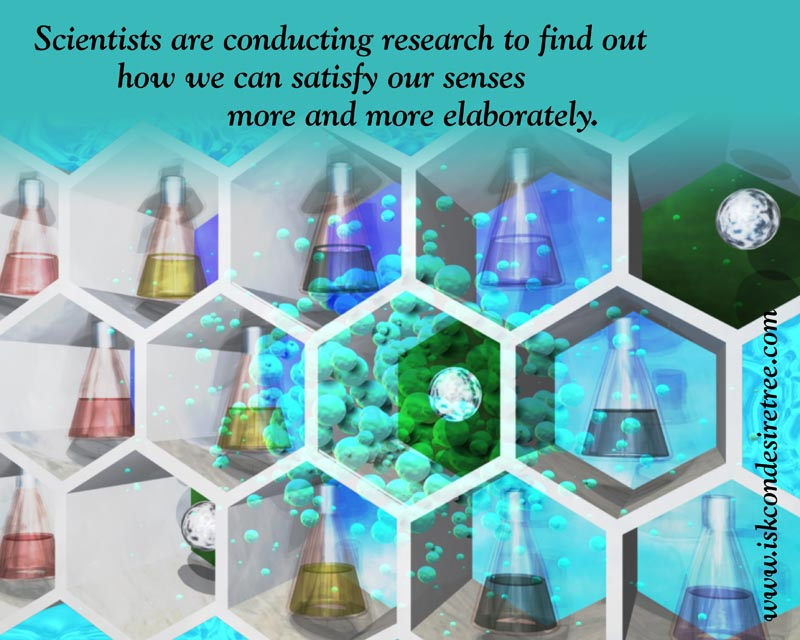 Quotes by Srila Prabhupada on Research Conducted By The Scientists