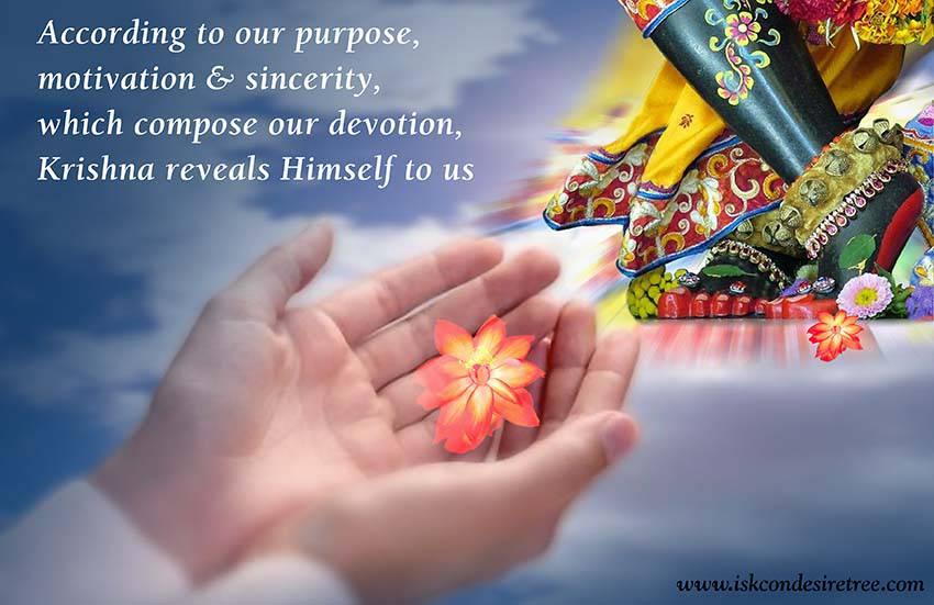 Quotes by Srila Prabhupada on Revelation of Krishna to Us
