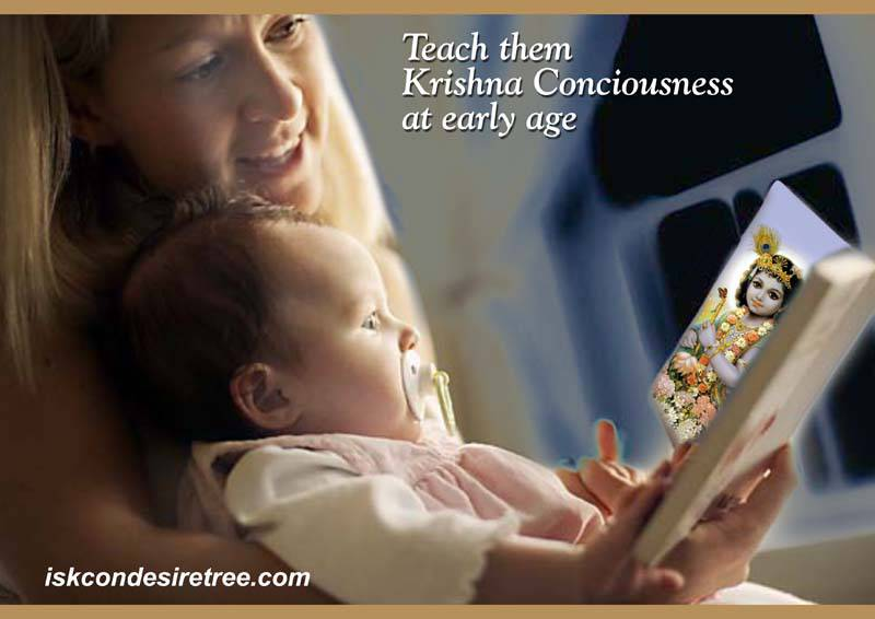 Quotes by Srila Prabhupada on Teaching Krishna Consciousness to The Children