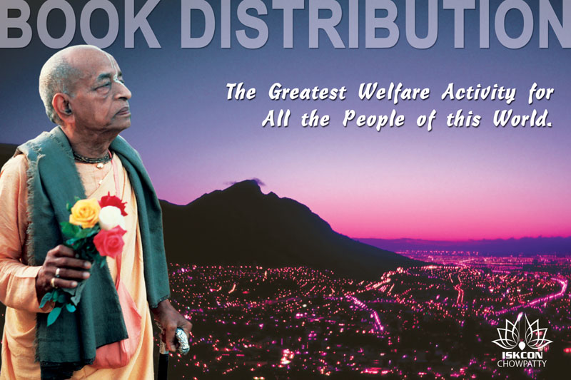 Quotes by Srila Prabhupada on The Greatest Welfare Activity of The World