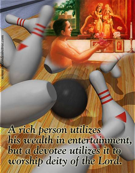 Radhanath Swami Quotes on Utilization of Wealth