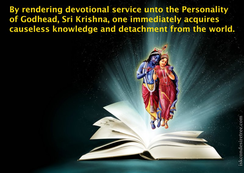 Srimad Bhagavatam on Benefits of Rendering Devotional Service