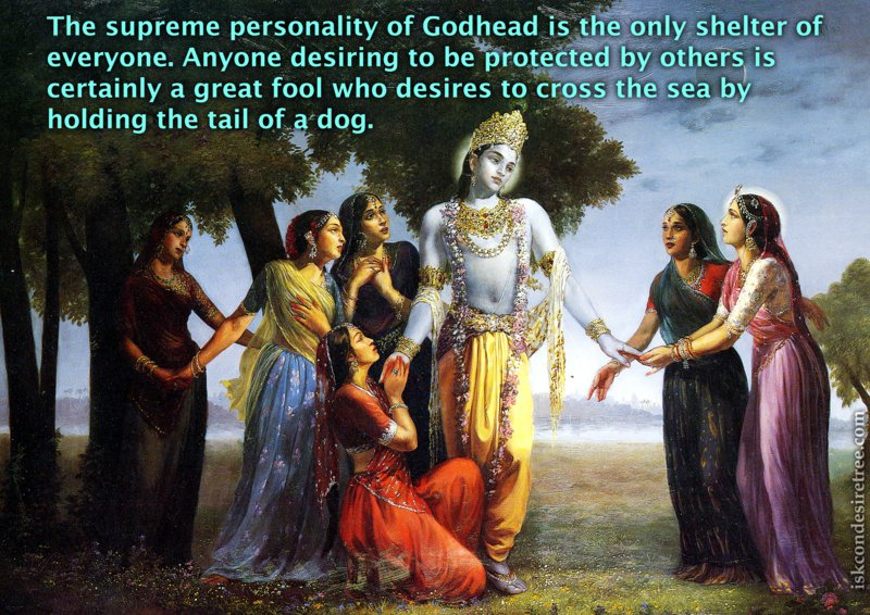 Srimad Bhagavatam on Supreme Personality of Godhead – The Only Shelter of Everyone