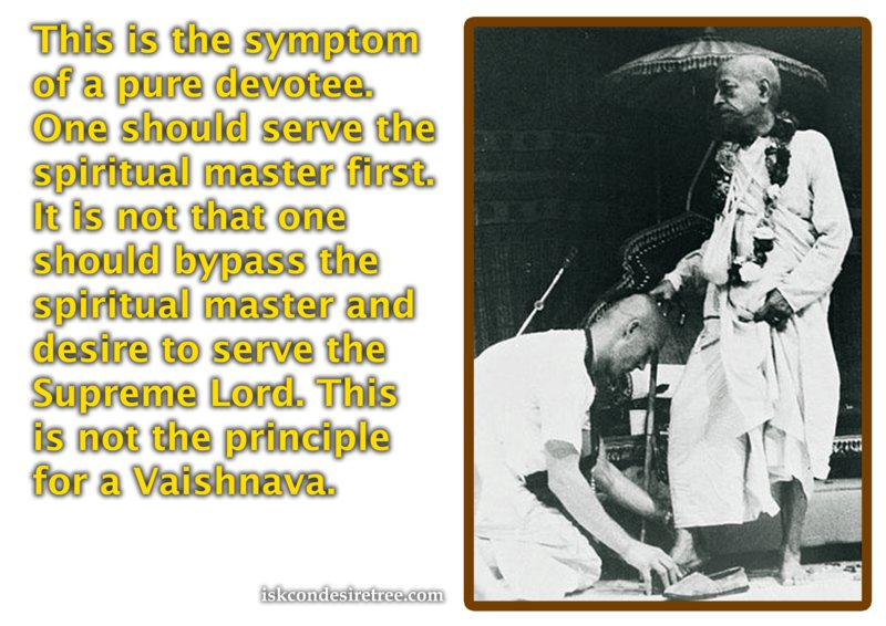 Srimad Bhagavatam on Symptom of A Pure Devotee
