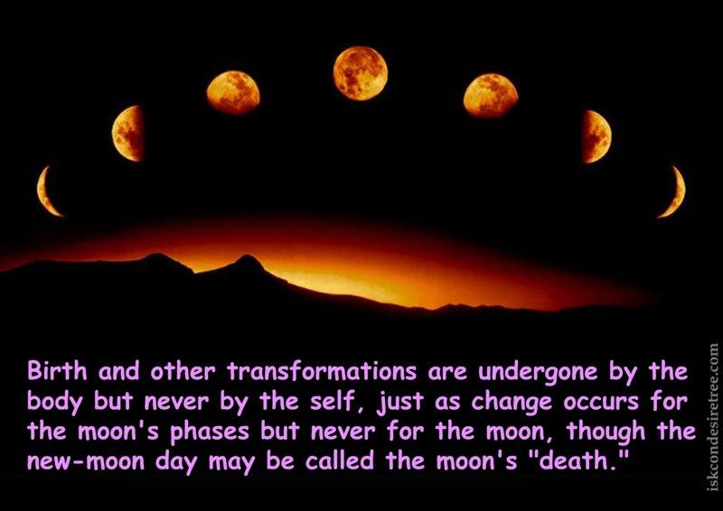 Srimad Bhagavatam on Transformations of The Body