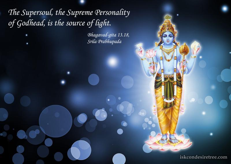 Bhagavad Gita on The Supersoul