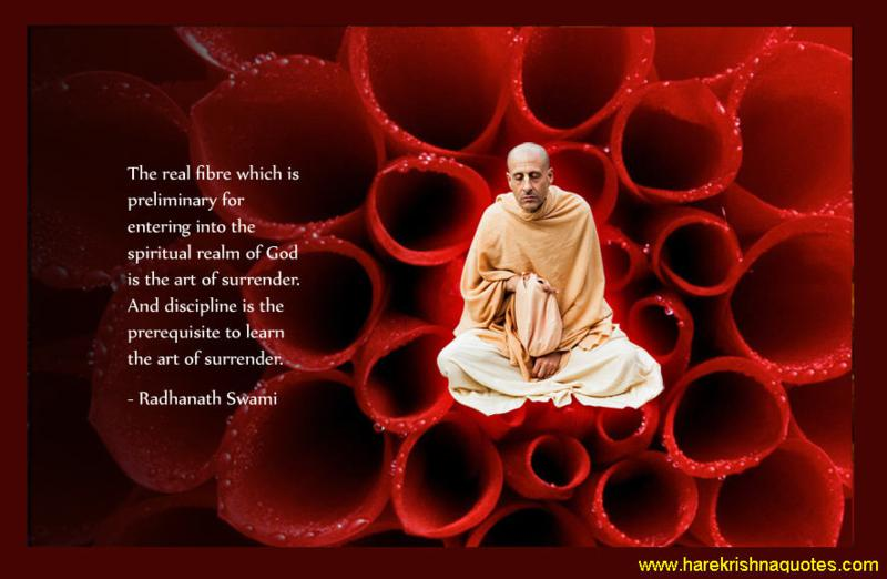 Radhanath Swami on Art of Surrender
