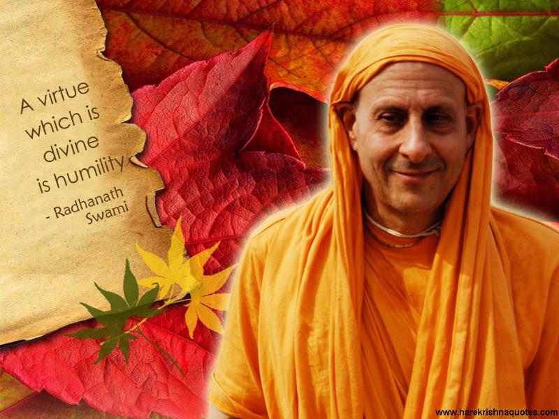 Radhanath Swami on Humility