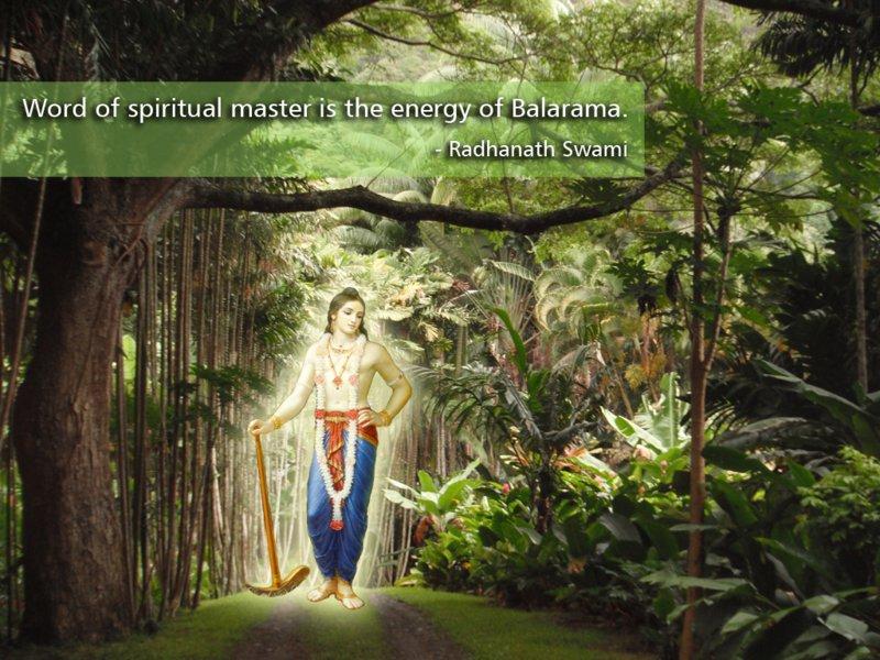 Radhanath Swami on Lord Balarama