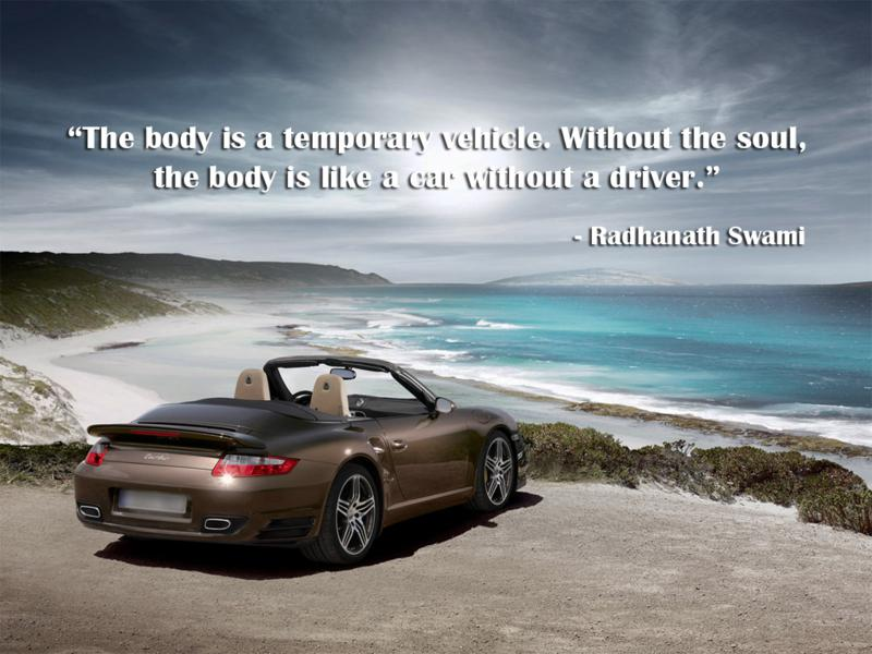 Radhanath Swami on Material Body