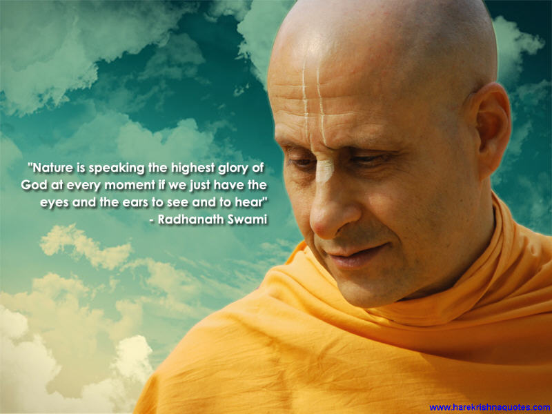 Radhanath Swami on Nature