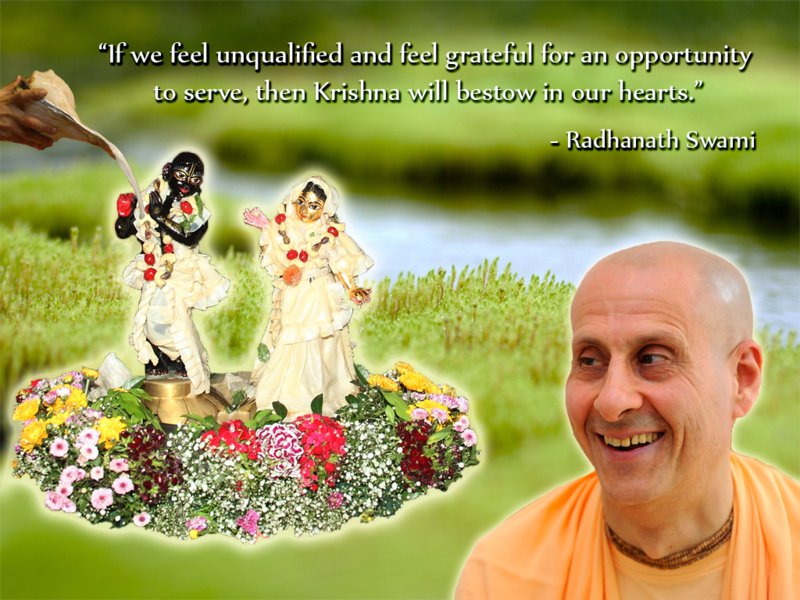 Radhanath Swami on Opportunity To Serve