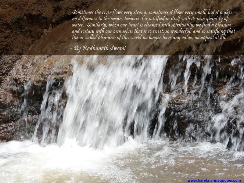 Radhanath Swami on Pleasures of This World